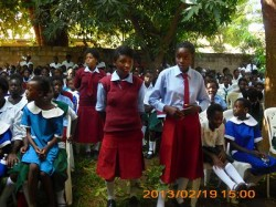 These girls expressed their appreciation in a wonderful poem