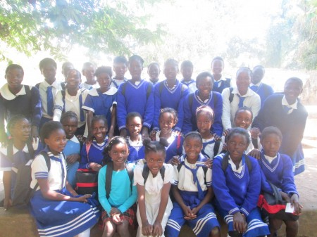 Girls from Maranatha Adventist School