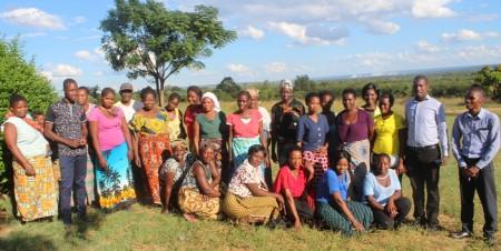 Mwandi SHG members